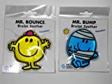2 Mr Men Cold Pack Gel Bruise Soother Mr Bump & Mr Bounce