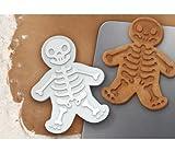 2 X GingerDead Man Cookie Cutter Stamper