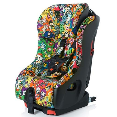 Clek Foonf 2014 Special Edition Tokidoki Convertible Car Seat, All Over front-387063