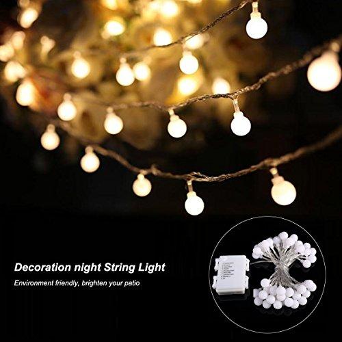 B-right-40-LEDs-Globe-Lichterkette-LED-lichterkette-warmwei-Globe-String-Licht-Sternenlicht-Innen-und-Auen-Deko-Glhbirne-Weihnachtsbeleuchtung-fr-Weihnachten-Hochzeit-PartyWeihnachtsbaum