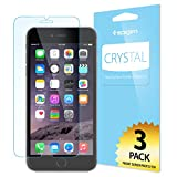 iPhone 6 Plus Screen Protector, Spigen® [Full HD] iPhone 6 Plus (5.5) Screen Protector [Crystal Clear][3-PACK]**JAPANESE BASE PET FILM** High Definition (HD) Premium Ultra Clear Front Screen Protector for iPhone 6 Plus (5.5) (2014) - Crystal CR (SGP10873)