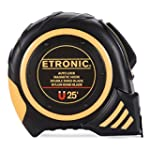 Etronic 25-Foot-by-1-Inch Tape Measure