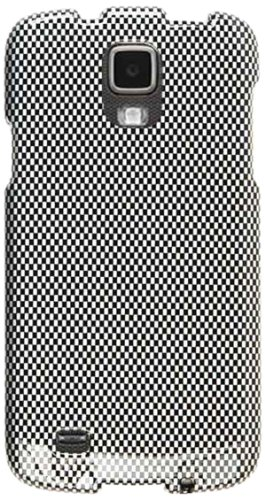 Cell Armor Snap Case for Samsung Galaxy S4 Active i9252 - Retail Packaging - Carbon Fiber