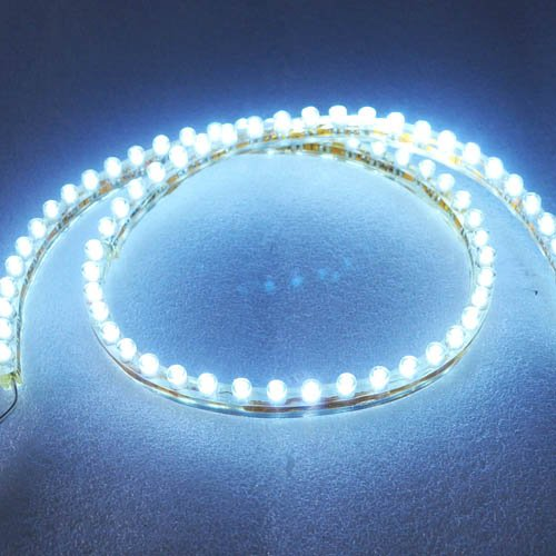Metro Shop 72Cm Pvc Led Flexible Bar Diy Led Stripe Auto Lamp Car Decoration Lamp White Light