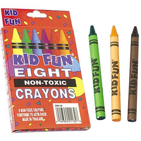Box of 8 Crayons