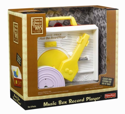 Fisher Price Classic Record Player Toy, Kids, Play, Children front-693627