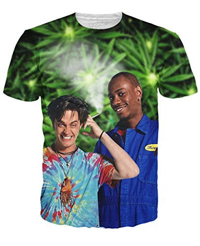 RageOn Men's Half Baked T-Shirt 3X Multi (Half Baked Tshirt compare prices)