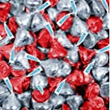 Hershey's Kisses - Original - Red and Silver Foil, 1 lb