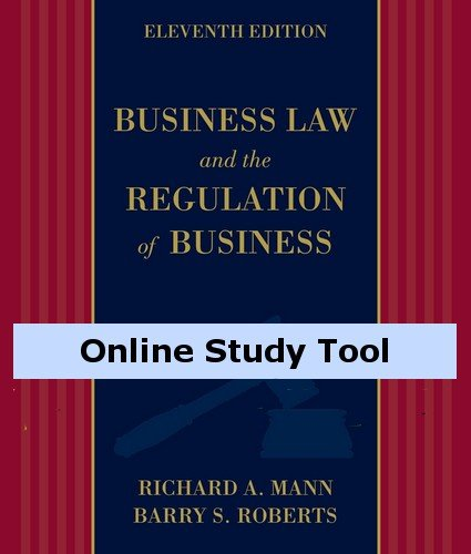 Coursemate Online Study Tool With Business Law Digital Video Library Access To Accompany Mann/Roberts' Business Law And The Regulation Of Business [Instant Access]