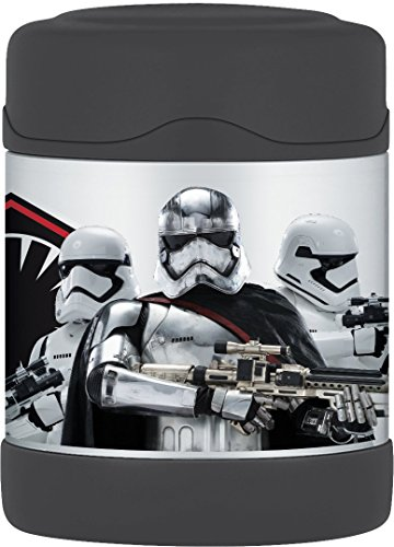 Thermos Star Wars Episode VII 10 Ounce Funtainer Food Jar, Captain Phasma