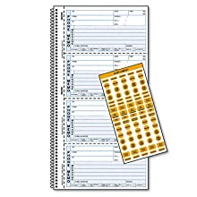 Rediform Desksaver While-You-Were-Out, 2 Per Page, 5.5 x 4 Inches, 2 Part, 100 Messages (50226)