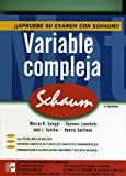 img - for Variable Compleja Serie Schaum. El Precio Es En Dolares. book / textbook / text book