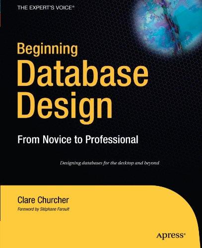 Beginning Database Design: From Novice to Professional PDF