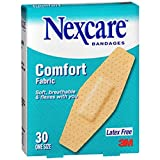 Nexcare Comfort Fabric Bandages, One Size, 35 Count (Pack of 6)