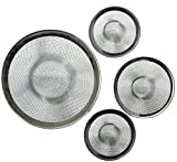 3 Pc Mesh Sink Strainer 3 Different Size for Home Kitchen Hotel