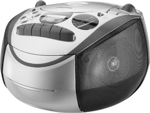 Grundig RR CD 2700 Radio-cassette-CD MP3 Argent/noir