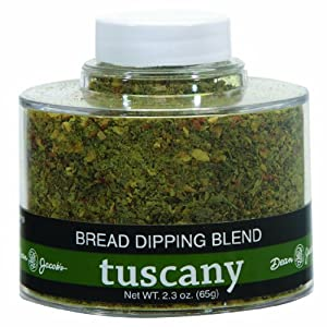 Dean Jacob's Tuscany Bread Dipping Blend, 2.3 Oz Stacking Jar