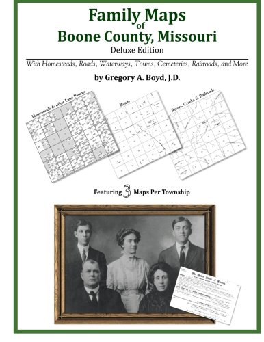 Family Maps of Boone County, Missouri