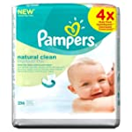 Pampers Natural Clean Wipes - (Pack o...