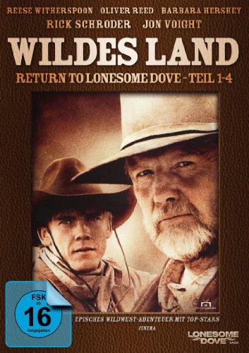 Wildes Land - Return to Lonesome Dove - Teil 1-4 (Fernsehjuwelen) [2 DVDs]