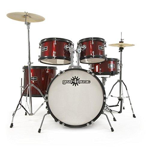 kit-de-batterie-junior-5-pieces-par-gear4music-bordeaux