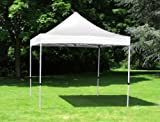 Standard 3m x 4.5m Foldable Pop Up Gazebo - White (Gazebo - frame and roof only)