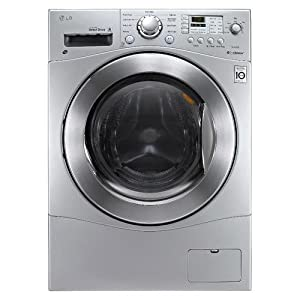 "LG WM3477HS 24"" Compact Washer Dryer Combo, TITANIUM by LG"