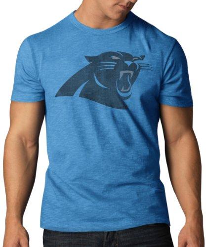 Nfl Carolina Panthers Men'S Scrum Basic Tee, Medium, Glacier Blue front-892805