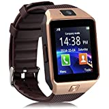 Padgene DZ09 Bluetooth Smart Watch with Camera for Samsung S5 / Note 2 / 3 / 4, Nexus 6, Htc, Sony and Other Android Smartphones, Gold