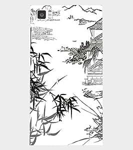 Back Cover for Xiaomi Mi3 Jungle Art
