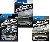 PACK OF 3 - Hot Wheels Fast & Furious '08 Dodge Challenger SRT8 [7/8] - 2009 Nissan GT-R [6/8] - 1970 CHEVELLE SS GT-R [5/8] (1:64)