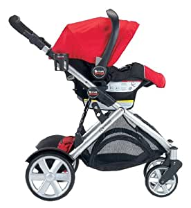 Britax B-Ready Stroller, Red (Prior Model)