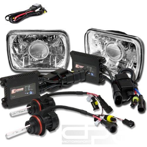 Toyota Corolla FX 55w ICE Blue Xenon HID High//Low Beam Headlight Bulbs Pair