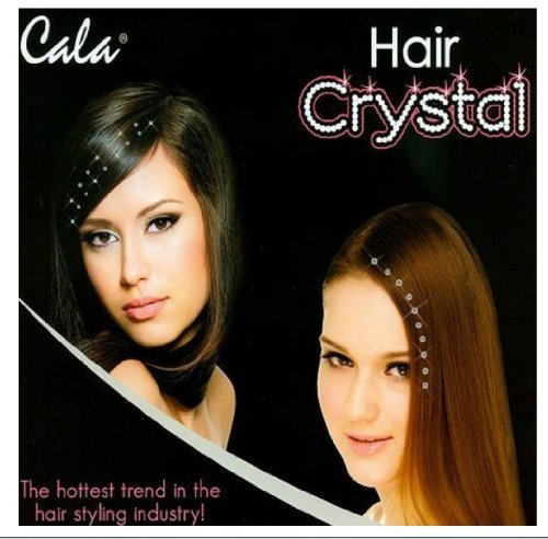 Hair Jewelry Acrylic Crystals Gems 40pcs Color Clear