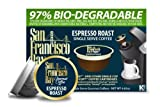 San Francisco Bay Coffee Espresso Roast, 36-Count OneCup Single Serve Cups