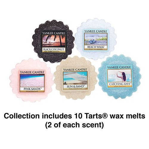 Yankee Candle Beach Tarts Wax Melts Collection Gift Set (Yankee Candle Wax Tarts compare prices)