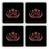 Bravado Guns N Roses Red Logo (Set of 4 Coasters)