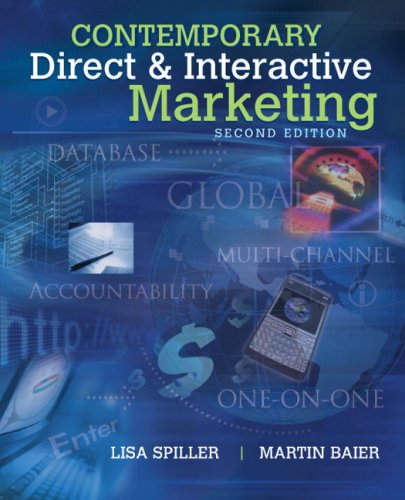 Contemporary Direct & Interactive Marketing (2nd...
