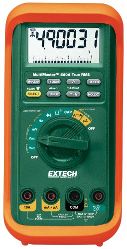 Extech MM560A MultiMaster High-Accuracy Multimeter