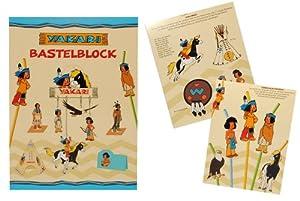 Bastelblock yakari bastelbuch set f r kinderzimmer deko for Kinderzimmer yakari