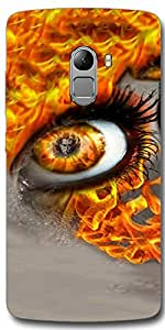 SEI HEI KI Designer Back Cover For Lenovo Vibe K4 Note - Multicolor