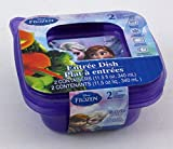 Disney's Frozen Entree Dish Pack of 2 Containers & Lids