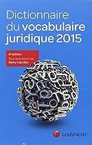 Dictionnaire du vocabulaire juridique 2015