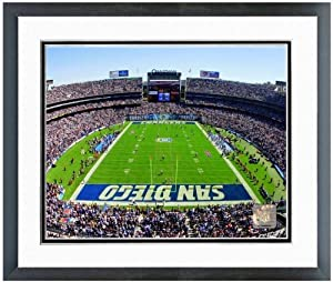 San Diego Chargers Qualcomm Stadium NFL Photo 12.5 x 15.5 Framed by NFL