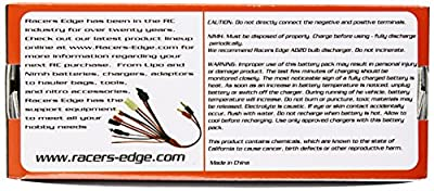 Racer's Edge 8.4V 5000mAh cell NiMH RC Battery Hump Pack with TRX Plug