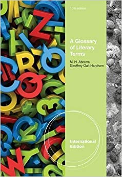 a glossary of literary terms mh abrams free download