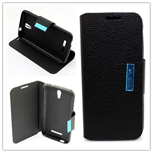 misemiya-r-funda-vodafone-smart-4-power-alcatel-onetouch-pop-s7-libro-cuero-agenda-soporte-negro