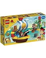 Lego Duplo Jake et les Pirates du Pays Imaginaire - 10514 - Jouet de Premier Age - Le Vaisseau Pirate de Jake