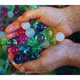DewDrops Water Beads Unique Soothing Mix, 8 oz (Approx 20,000 beads) For Kids Sensory Play Toys, Orbeez Spa Refill, Vase fillers