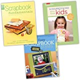 VARIOUS SCRAPBOOK 3 Books Collection Pack Set RRP: �44.97 (Scrapbook Fundamentals: Your Guide to Getting Started (Memory Makers), Scrapbooking with Your Kids: The Ultimate Guide to Kid-Friendly Crafting (Creating Keepsakes), Quick and Easy Scrapbook Styles)by Various